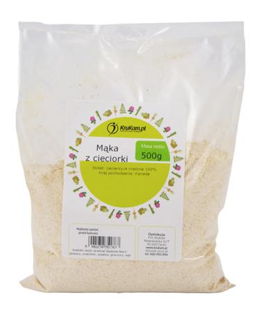 Mąka z cieciorki 500g BEZGLUTENOWA