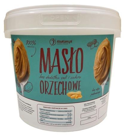 Masło Orzechowe 100% wiadro 5kg
