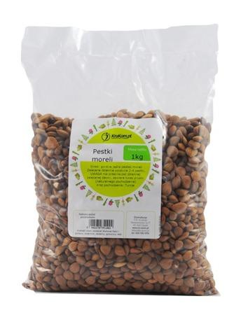 Pestki Moreli (jądra) Gorzkie 1kg